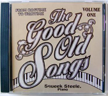 CD Cover Art The Good Old Songs V1