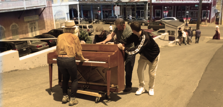 how to move a piano in virginia city, nevada