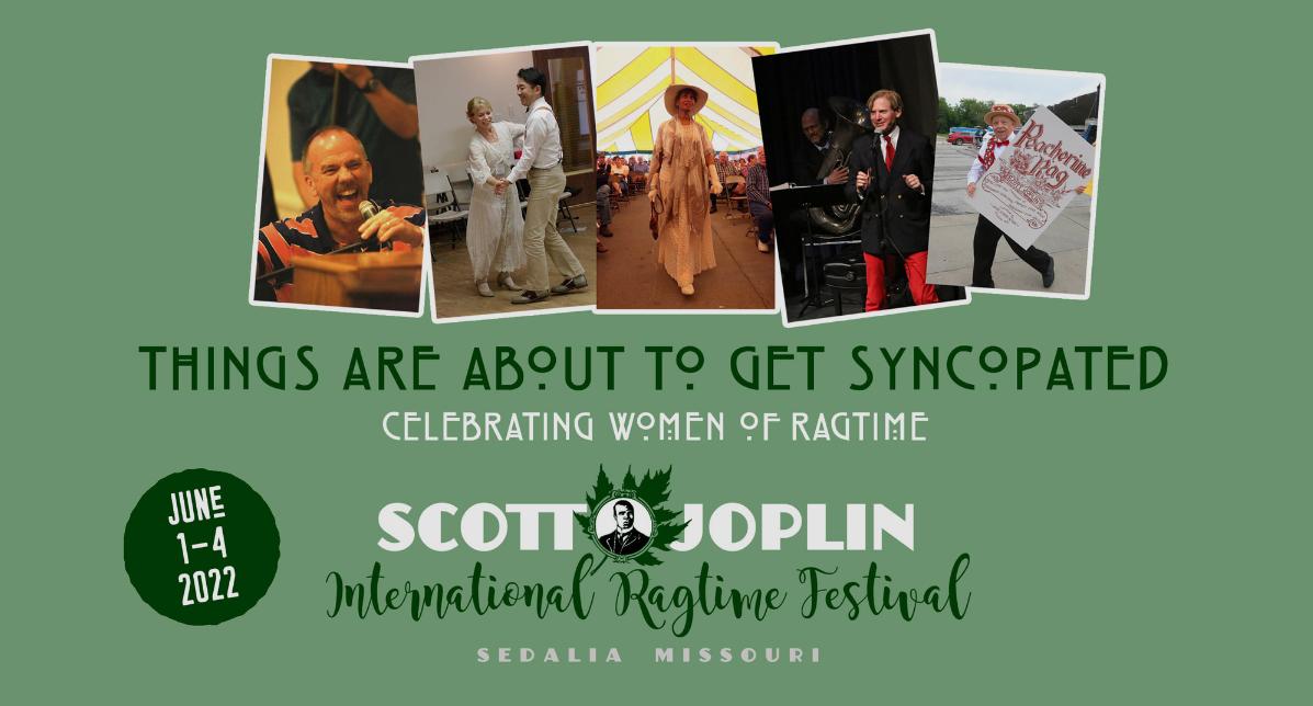 Scott Joplin Ragtime Festival 2022